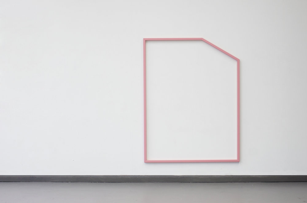 PLAYGROUND PINK  2015 // 170cm x 130cm  steel and varnish
