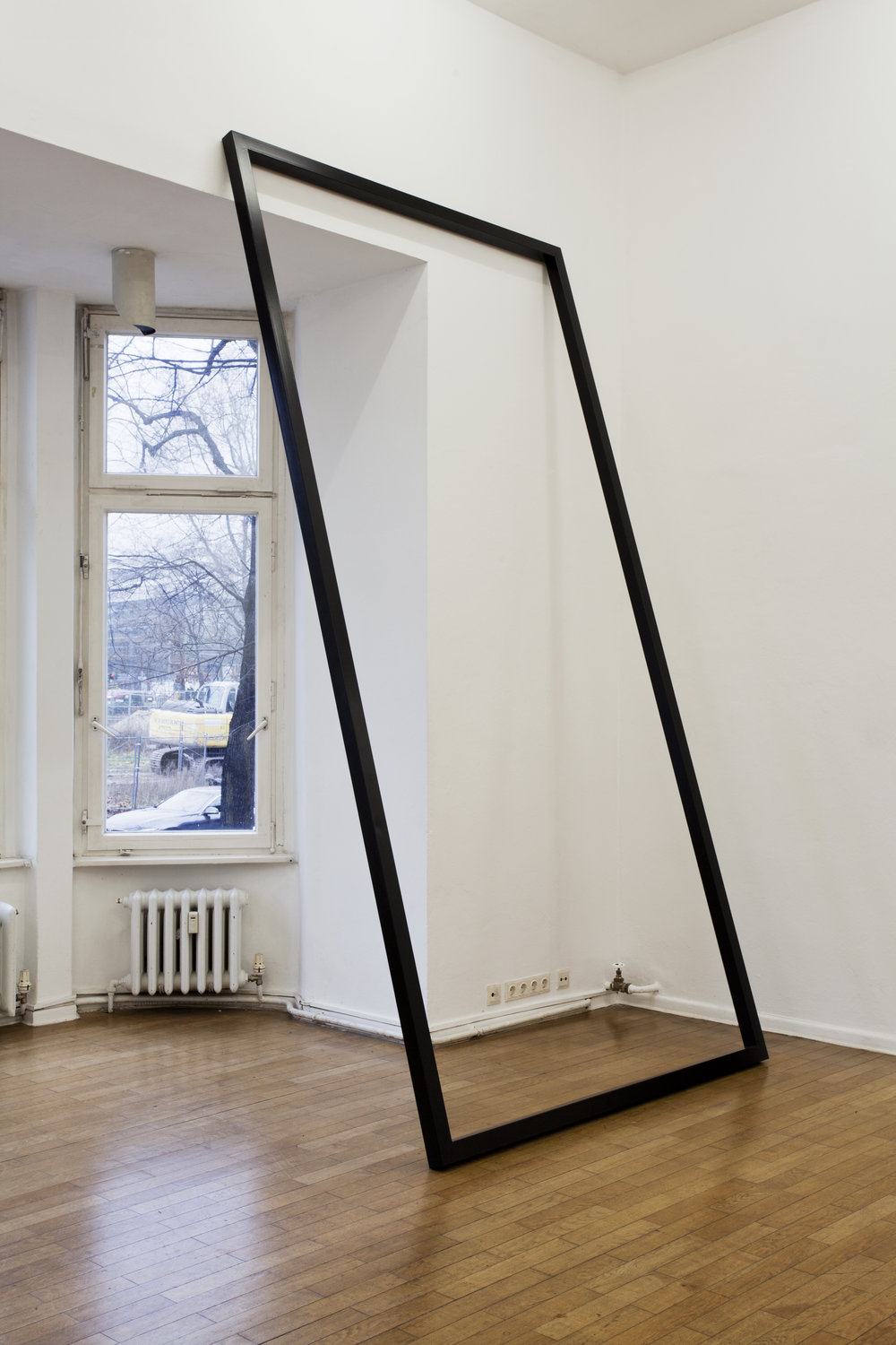 3DPLUS // installation view  2017 // various sizes  steel and varnish  Meisterschülerpreis @ Haus am Lützowplatz