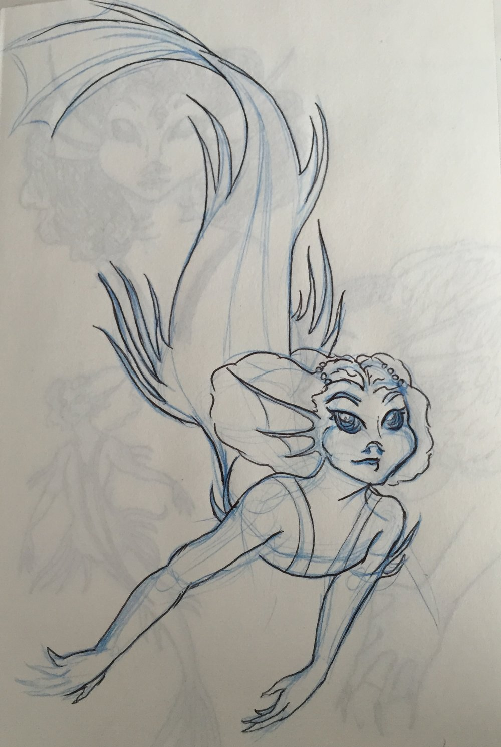 Mermaid concept character