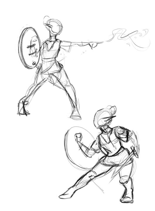 Combat Gestures
