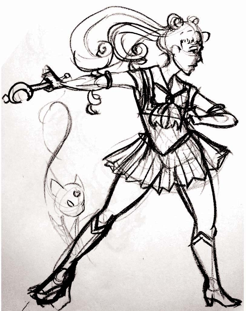 Sailor Moon Gesture