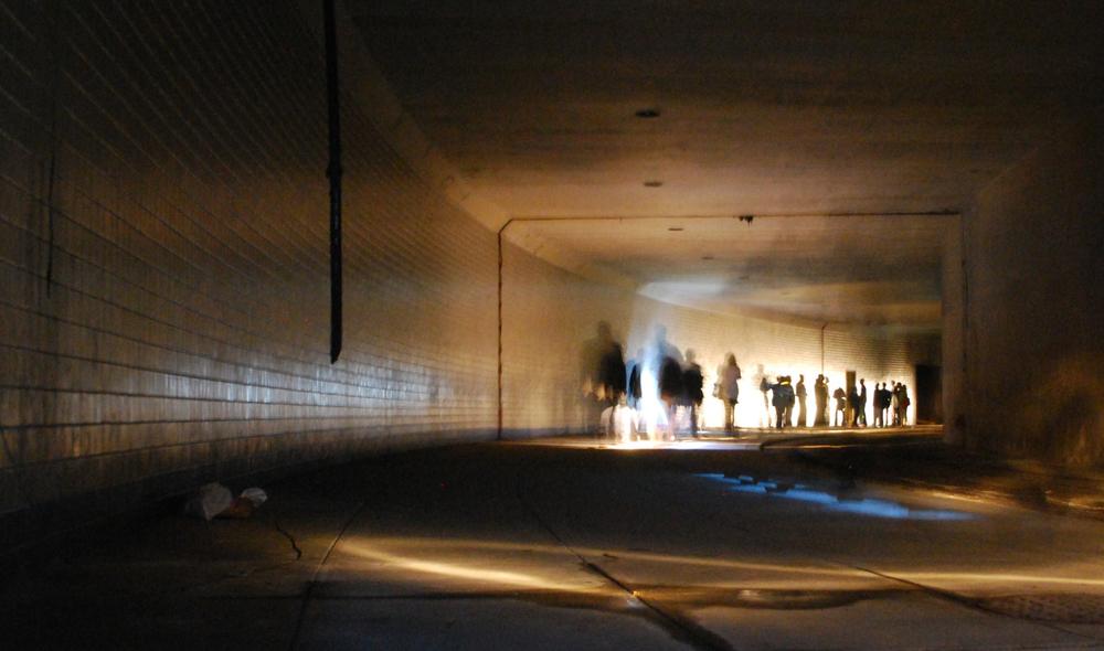 tunnels...lots of 'em