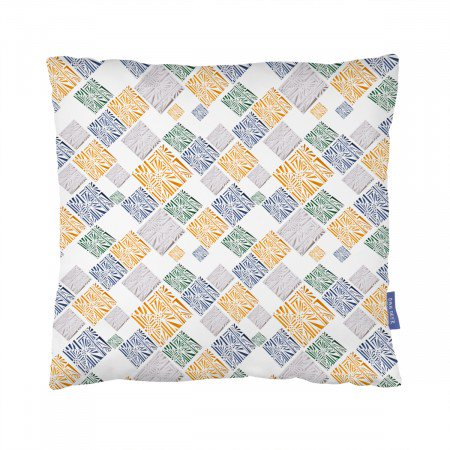 PAPER PATCHWORK CUSHION