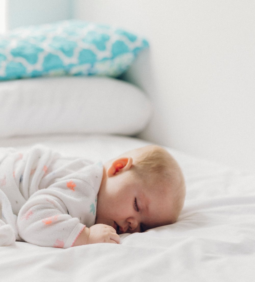 If only we could sleep like a baby - and get some solid restful sleep.