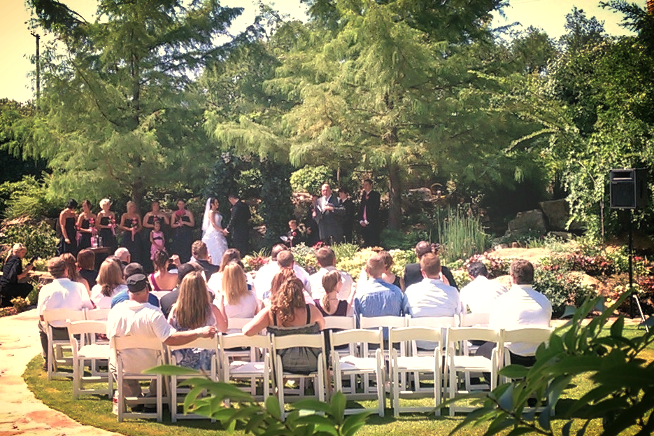 All of your guests will hear the ceremony with perfect clarity!