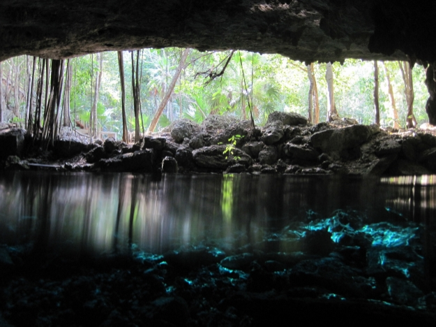 Cenote near Tulum, Mexico