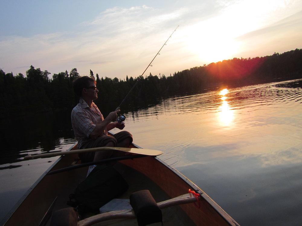 Quetico fishing