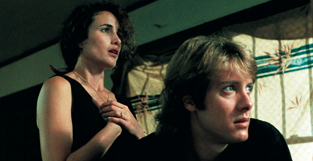 Andie McDowell, James Spader in sex, lies & videotape