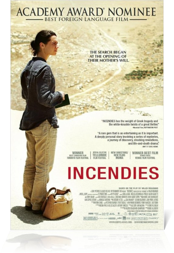 "Denis Villeneuve's adaptation of Wajdi Mouawad's ""Incendies"""