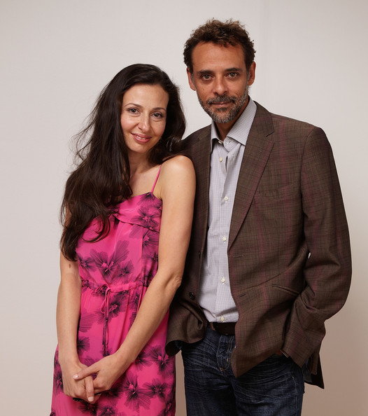 Ruba Nadda with her  Cairo Time  co-star, Alexander Siddig