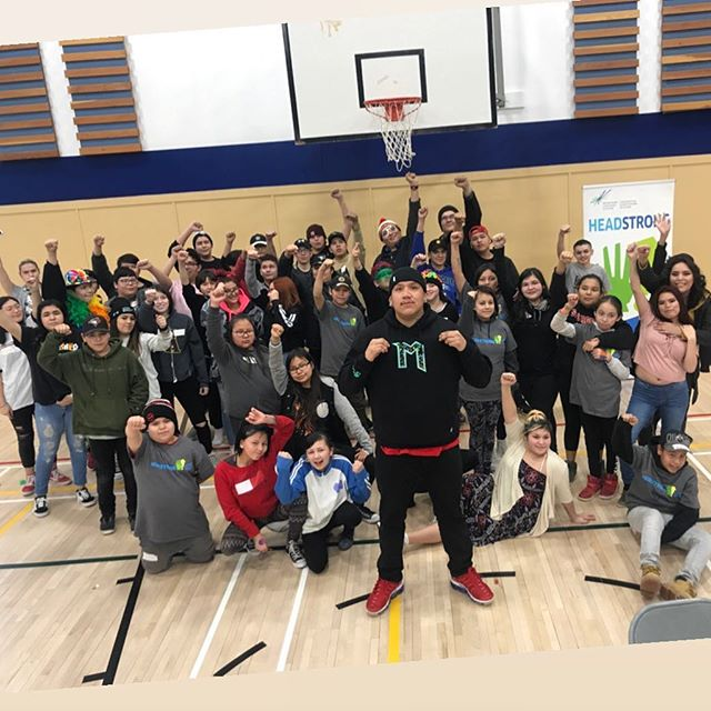 Shoutout my young nechis at #KEC !!!! Thank you Headstrong for bringing us together it was big lit 🔥 (Tag everyone you see in this pic!) #MobilizeTheYouth #Tapwe #AlexanderFN