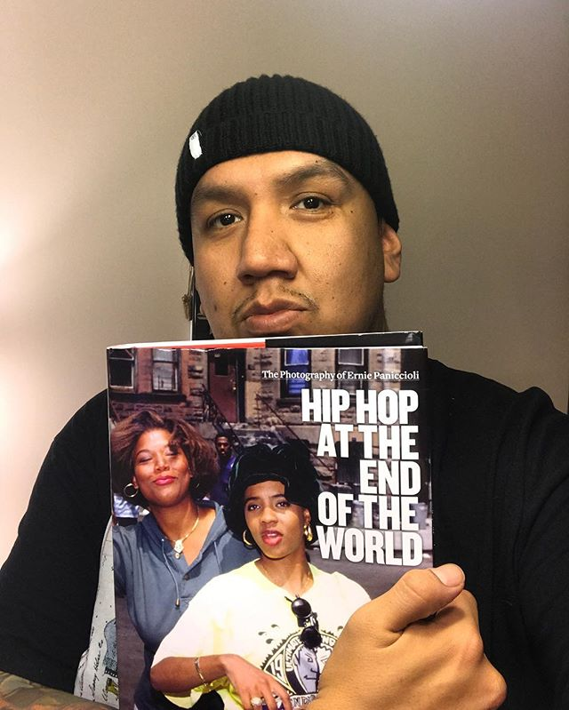 Happy birthday to thee #Brooklyn Neechi @erniepaniccioli ! Go support the big bro by copping a copy of his new photography book #HipHopAtTheEndOfTheWorld. The link is in my bio. Heres to many more. ⚡️⚡️⚡️⚡️⚡️