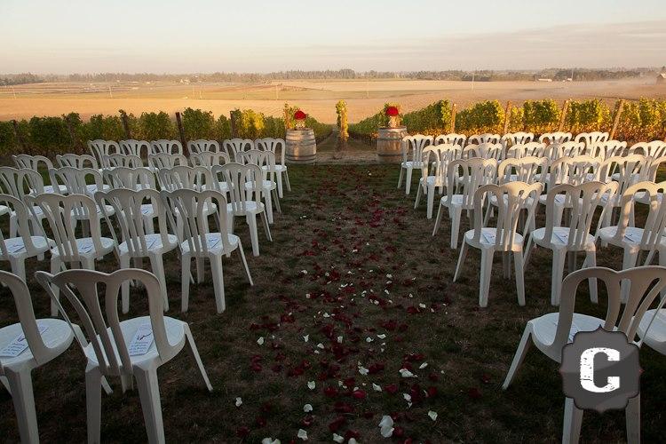 Oregon Wedding Ceremony