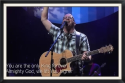 One of my Favorite local worship pastors.  - Tom Engelhardt