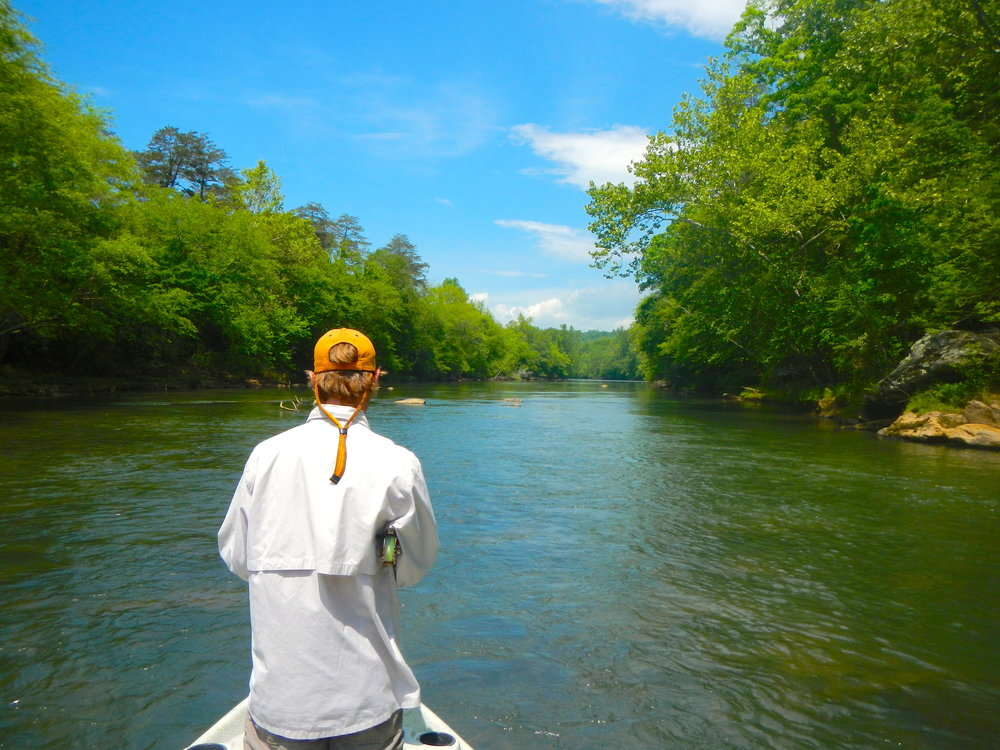Purest waters in the southeast are perfect for fishing.