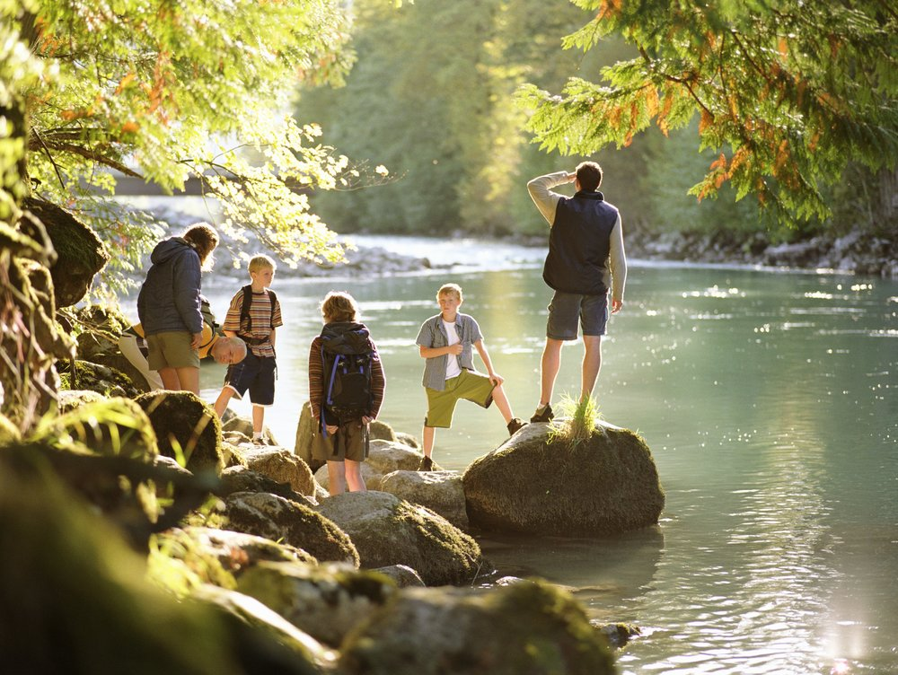 Catawba River Club residents enjoy miles of hiking trails along the river.