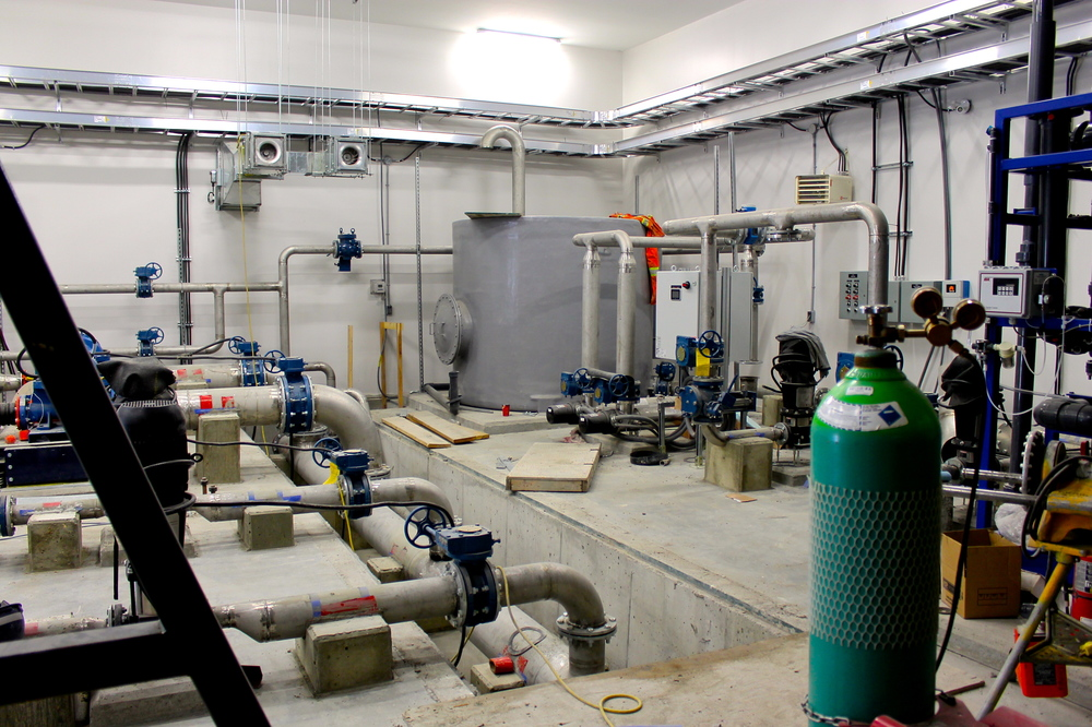 Sneak-peek of the state-of-the-art equipment inside the Water Treatment Plant - First in Ontario