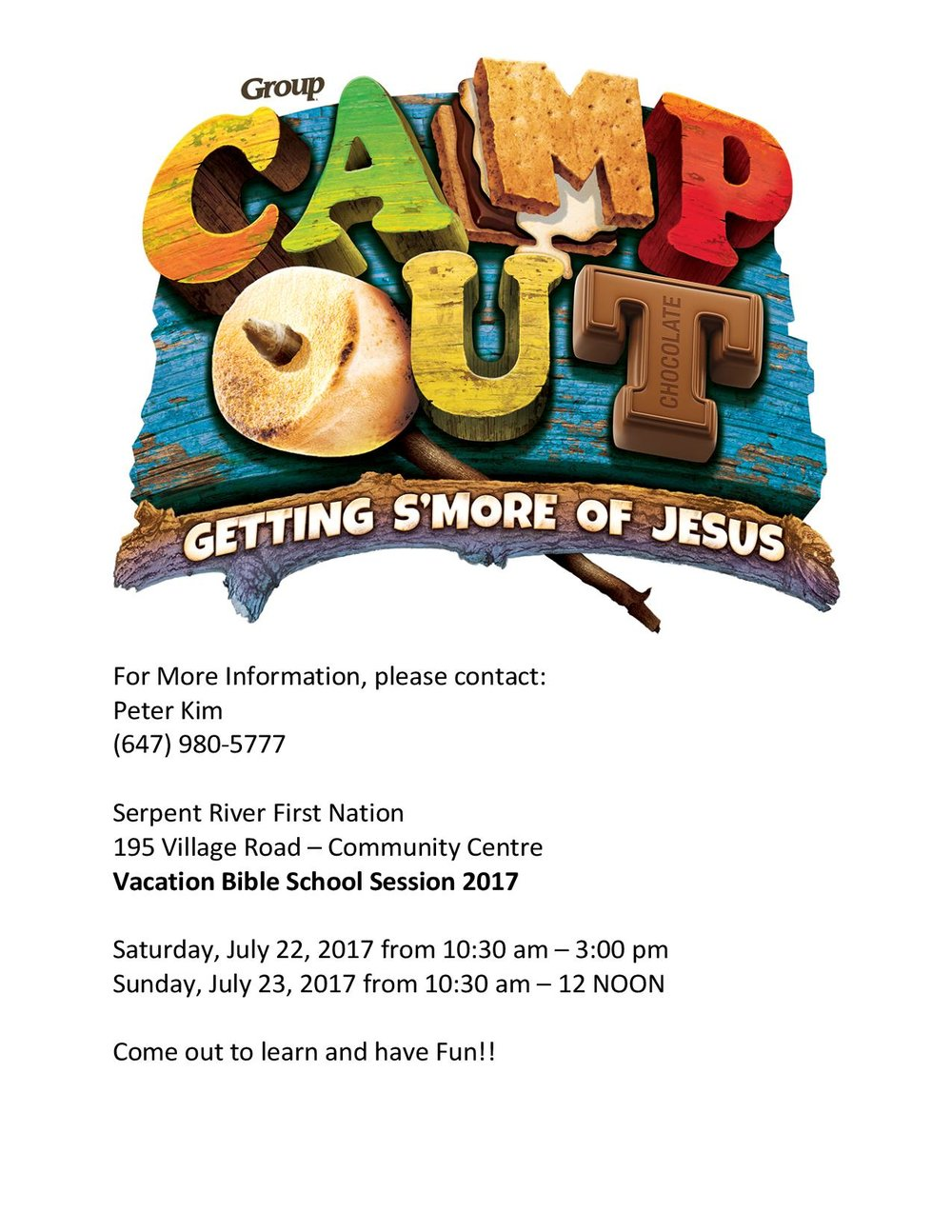 SRFN Bible Camp