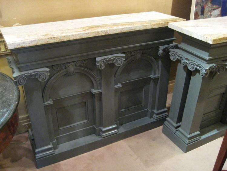 Pair Of Architectural Cabinets