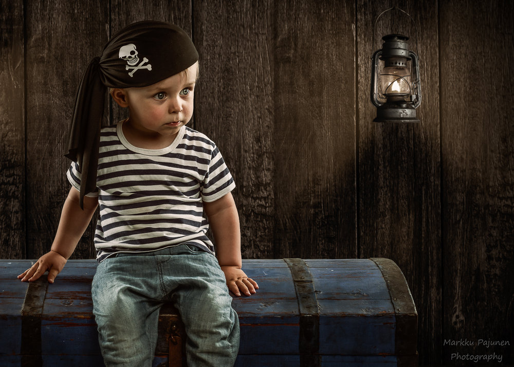 Pieni merirosvo lapsikuva