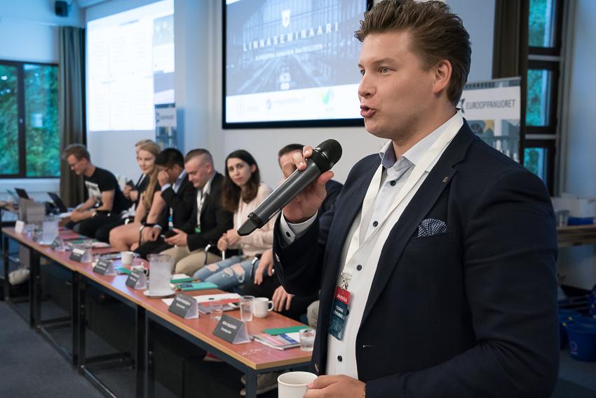 Eurooppanuorten Linnaseminaari 2017- Tuomas Tikkanen