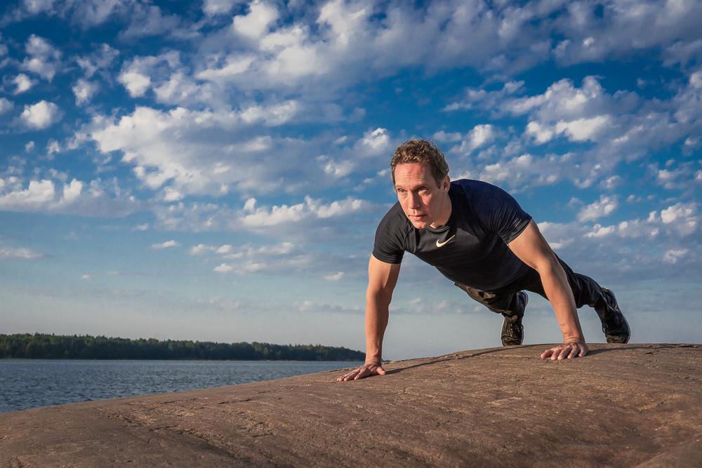 Mainosvalokuva Personal Trainer Tero Hannula