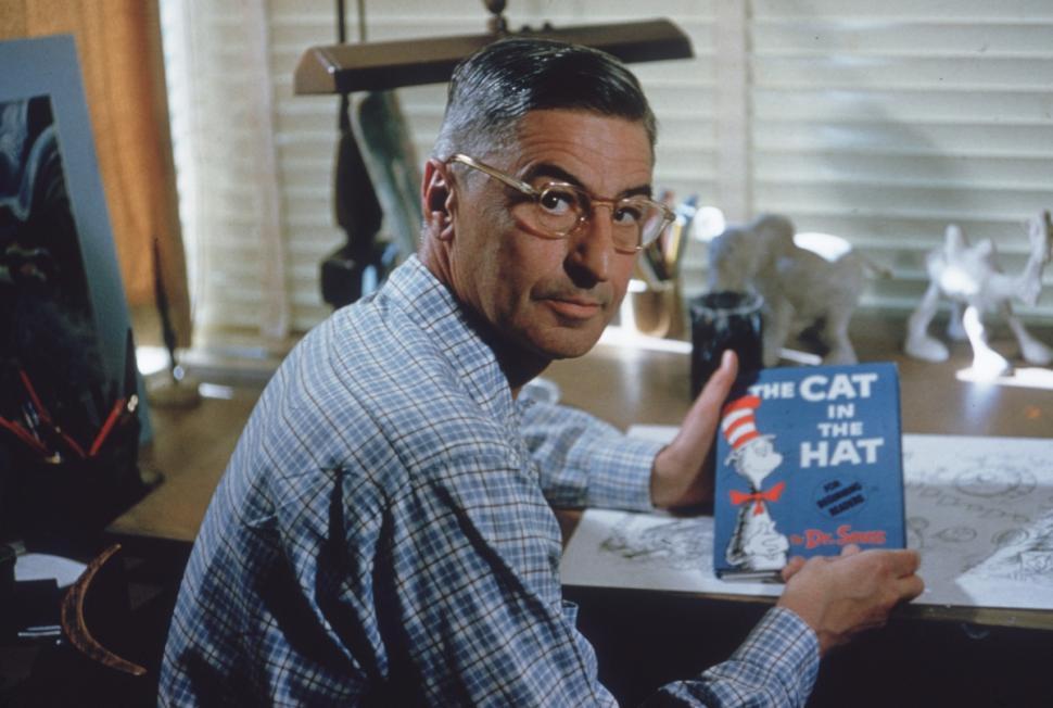 Dr. Seuss in 1957