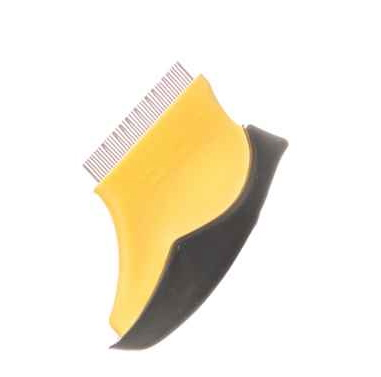 A flea comb is the best form of natural flea prevention.