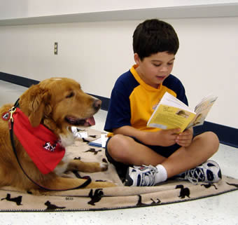 Kids and pets are a winning combination when it comes to learning to read.