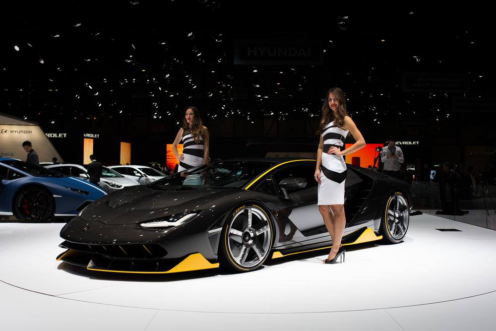 Lambroghini Centenario - Geneva Motor Show 2016