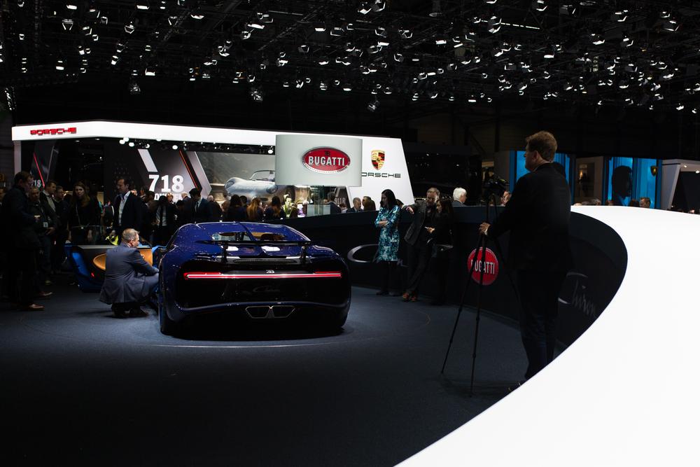 Bugatti Chrion - Geneva Motor Show 2016