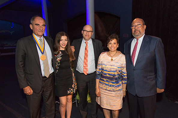 Vincent Mai, Lucy Mitnick, Shael Polakow-Suransky, Yolanda Ferrell-Brown, and Richard Parsons