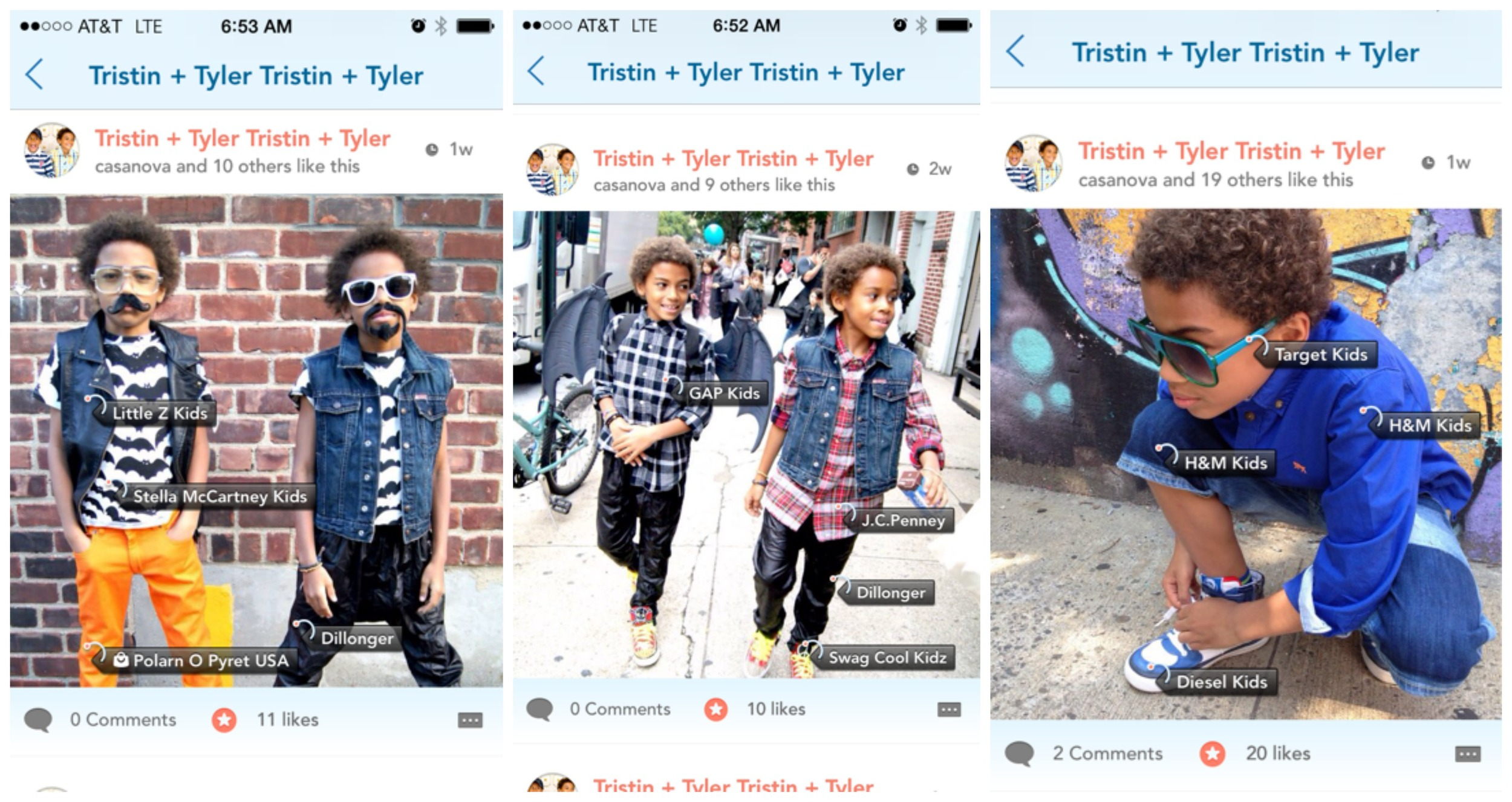 Lilstylers screen shot collage