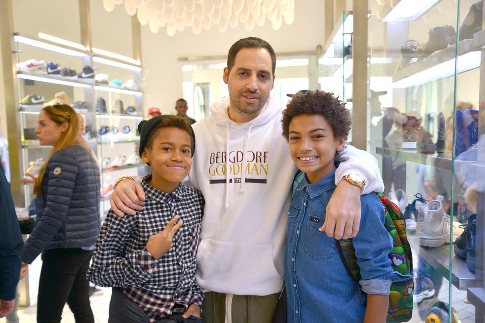 Tyler, Ronnie Fieg and Tristin
