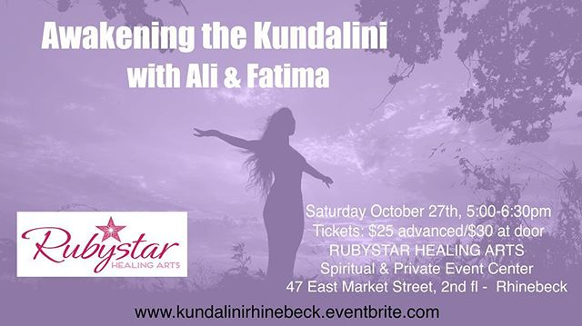 Awakening the Kundalini will be in upstate Hudson Valley this Saturday at 5pm. We are supporting those on the path of awakening thru guided energy work and intuitive readings. Many of us feel ourselves amidst great change in our lives, and know in our hearts that our old ways no longer work. We know we are ready for this change, but how? This workshop is for those that are ready to dive into that huge  change and awaken to the infinite possibilities ahead. Awakening our Kundalini energy is the beginning of a massive shift for those that desire it. To learn more and tickets go to www.kundalinirhinebeck.eventbrite.com #kundalini #kundaliniawakening #kundalinienergy #awakening #spiritualawakening #spirituality #consciousness #energyhealing #energywork #intuitive #intuitivereading #upstateny #hudsonvalley