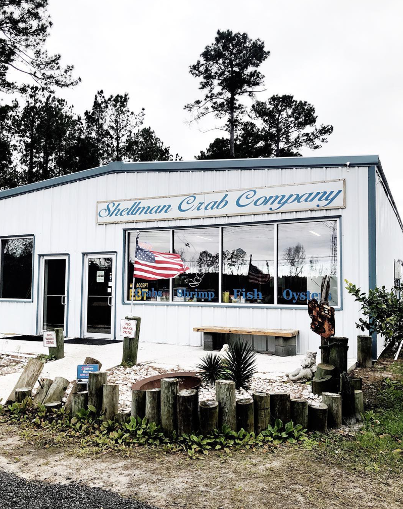 Shellman Crab Company in Shellman's Bluff, Georgia. Photo: jessgraves.com