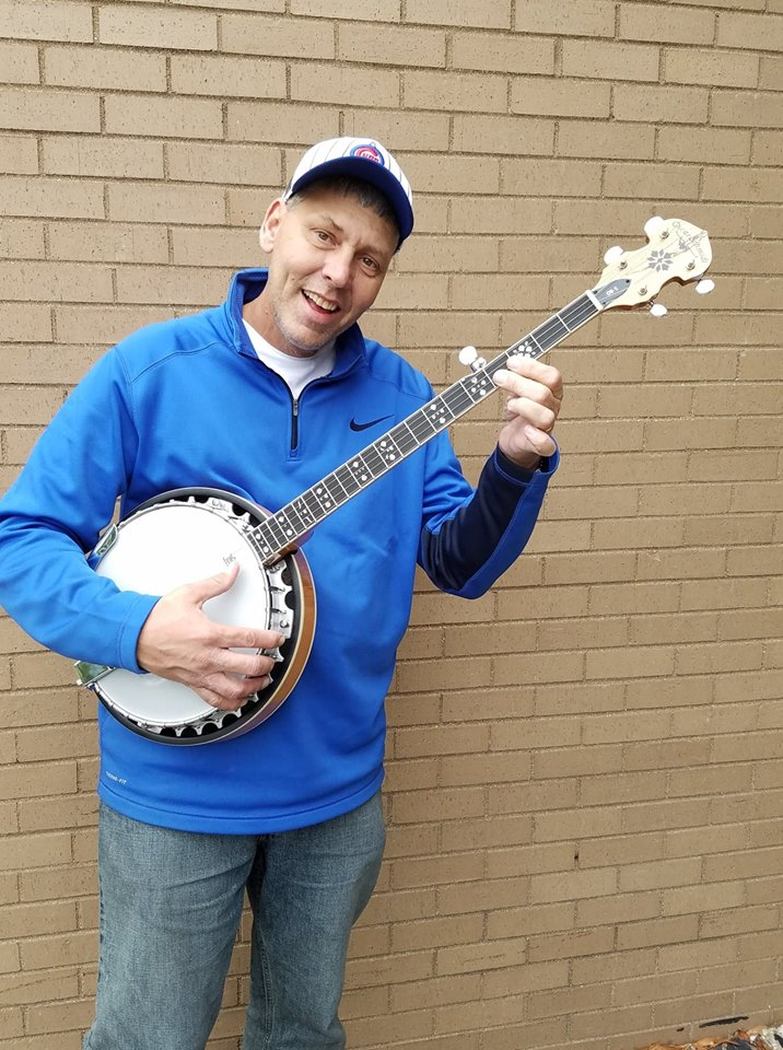 Oscar Schmidt Spalted Maple Banjo.jpg