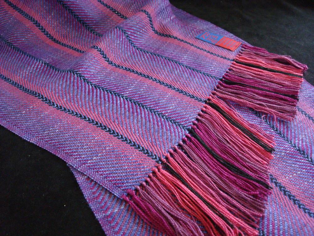 Magenta/Purple/black strip