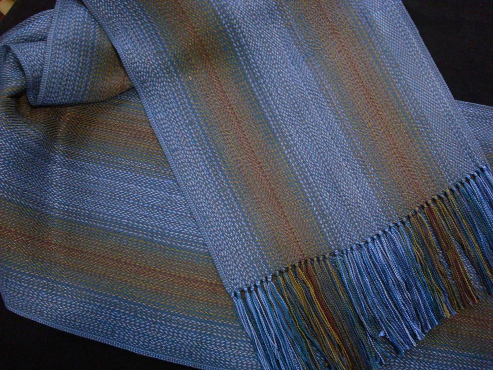 Blue ombre strip