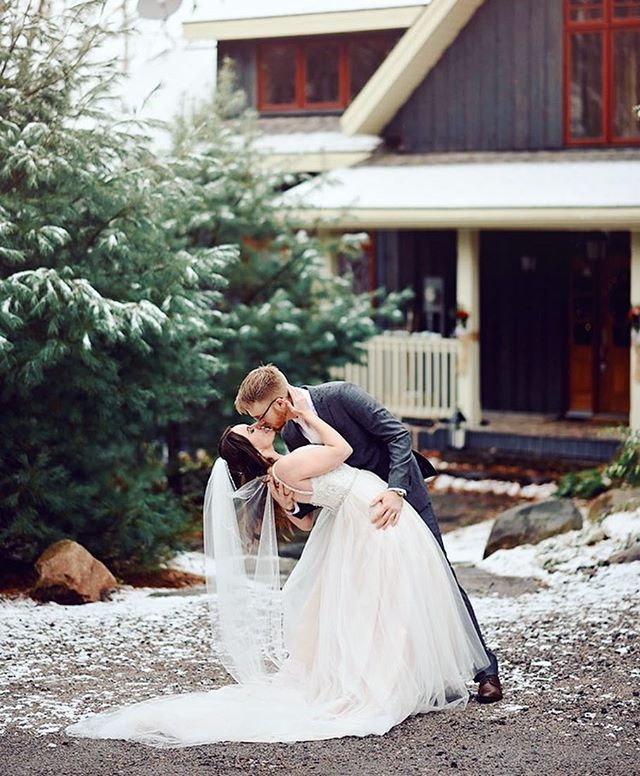 Winter has arrived which means winter weddings!!!