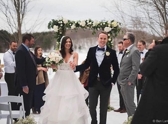 Beautiful winter wedding!!