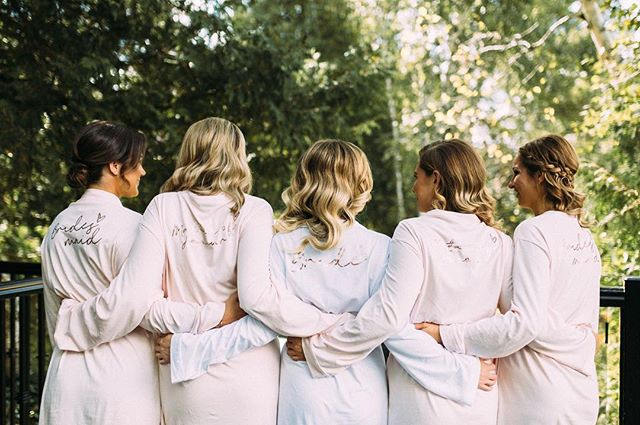 Bridal party goals!!