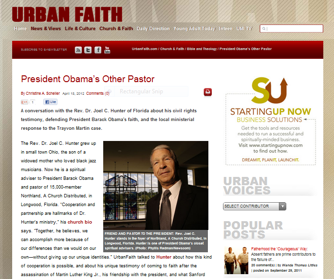 Joel Urban Faith