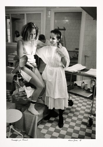 Bildet «Prevensjon på russisk» vant Årets bilde i 1992. Foto: Karina Jensen