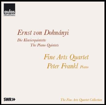 Dohnanyi - The Piano Quintets