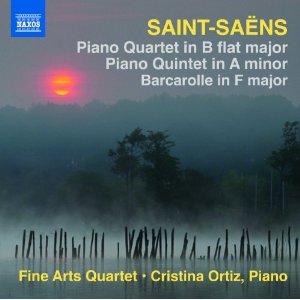 Saint-Saens Piano Quartet, Piano Quintet and Barcarolle