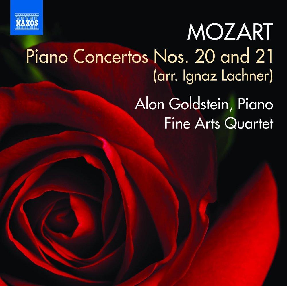 Mozart Piano Concertos Nos. 20 and 21