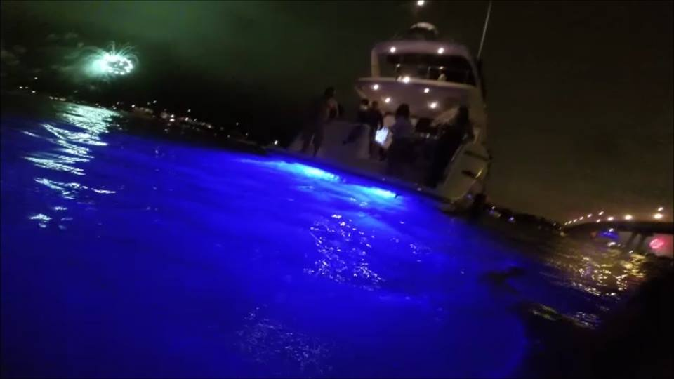 Private Charters at night aboard Mai Tai