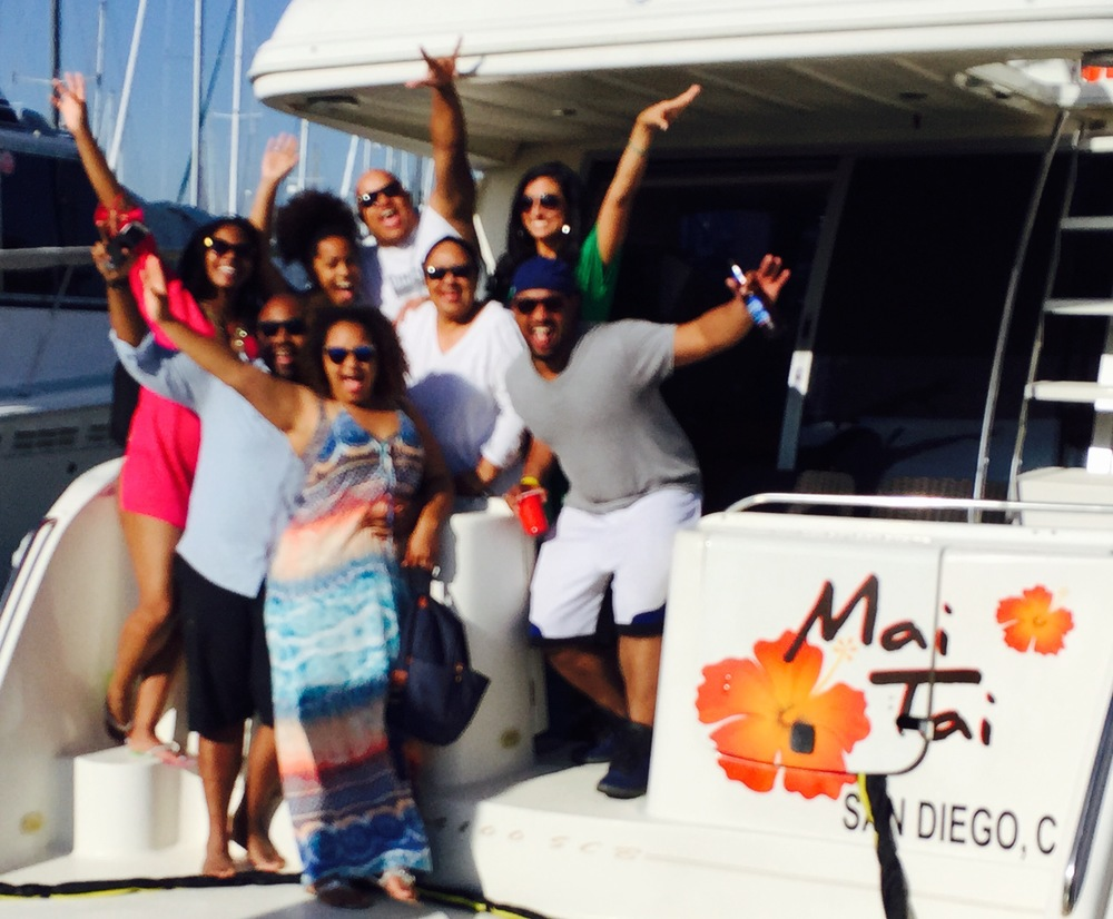 Corporate Events aboard Mai Tai Yacht Charters