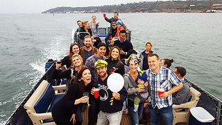 San Diego Bay Corporate Events on boat sailboat